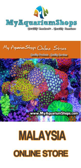 myaquarium shop online store banner